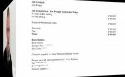 006 Phenomenal Invoice Template Uk Freelance Inspiration  Example Sample Word