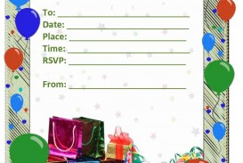 006 Phenomenal Microsoft Word Birthday Invitation Template Free Design  50th