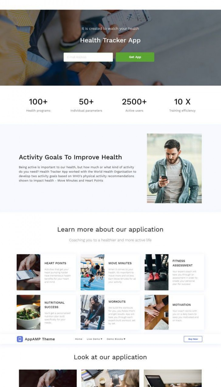 006 Phenomenal One Page Website Template Free Download Html Highest Quality  Simple With Cs Responsive728
