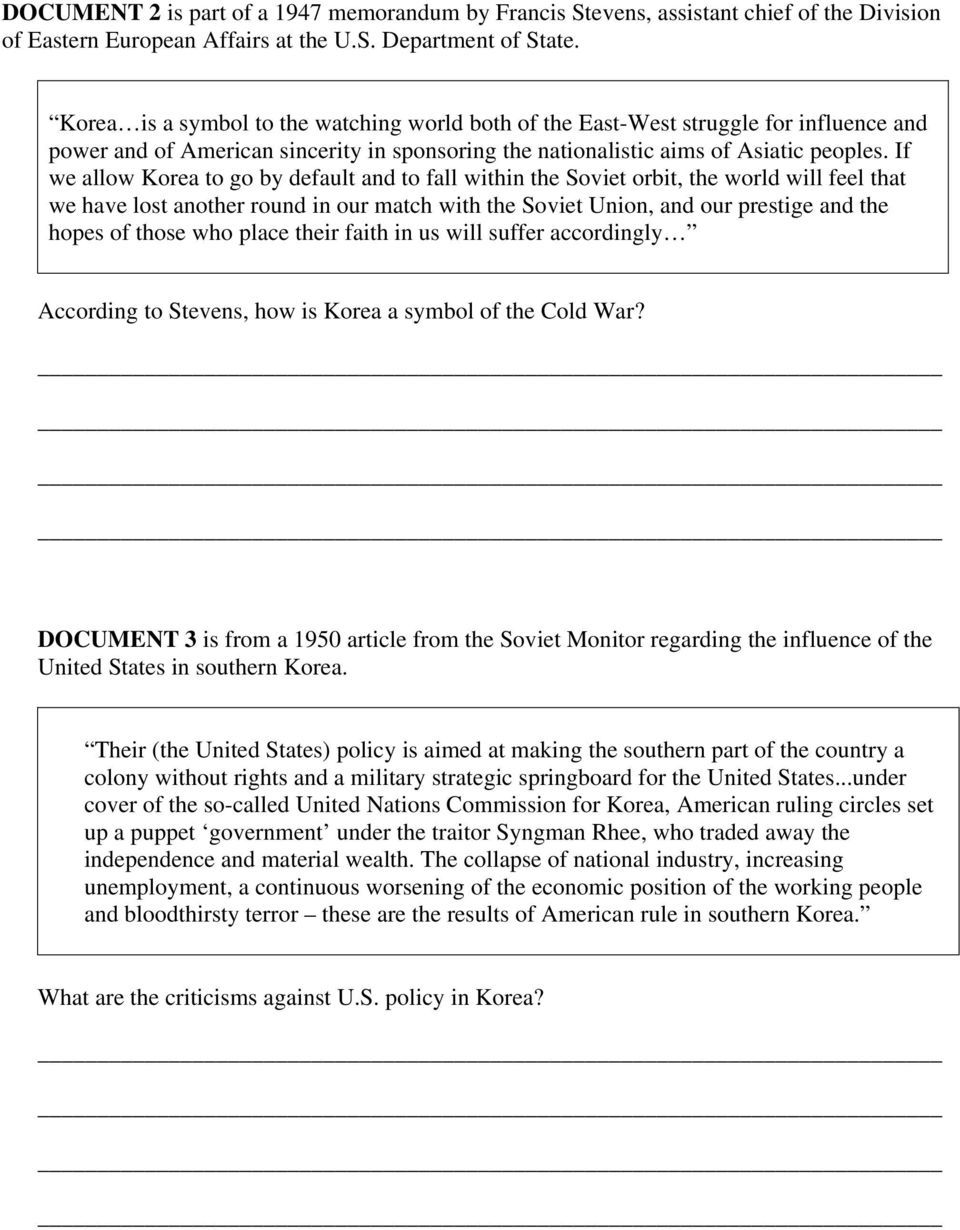 006 Rare Cold War Essay Highest Clarity  Title ThesiFull