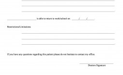 006 Rare Doctor Note For School Template Image  Example Fake