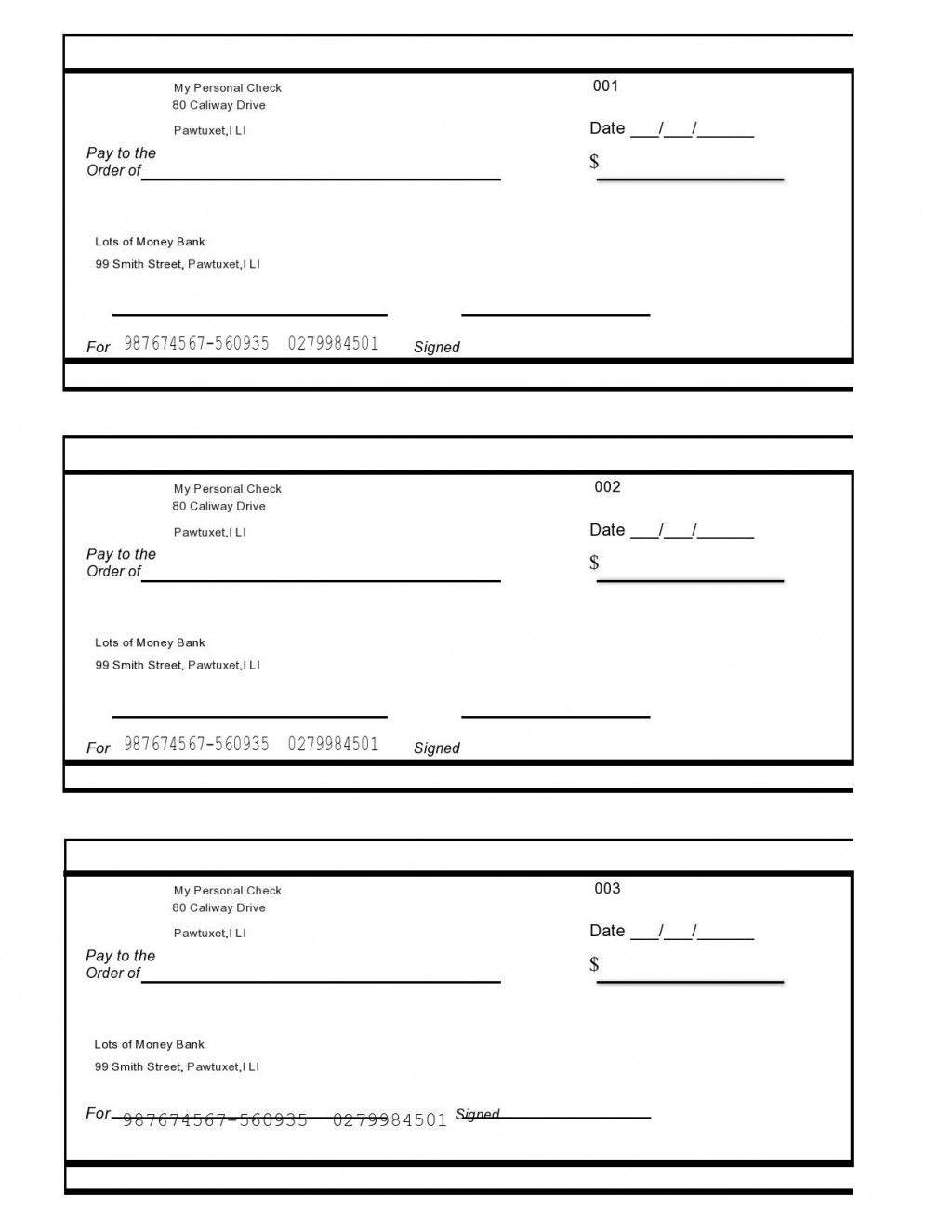 006 Rare Free Blank Check Template Pdf Inspiration  Fillable PrintableLarge