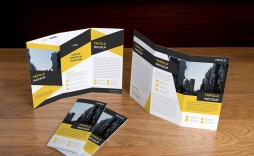 006 Rare Free Brochure Template Psd File Front And Back Sample