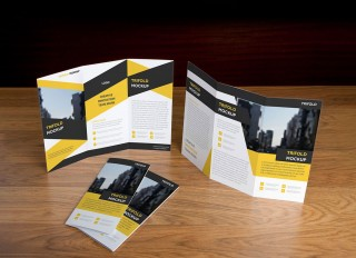 006 Rare Free Brochure Template Psd File Front And Back Sample 320