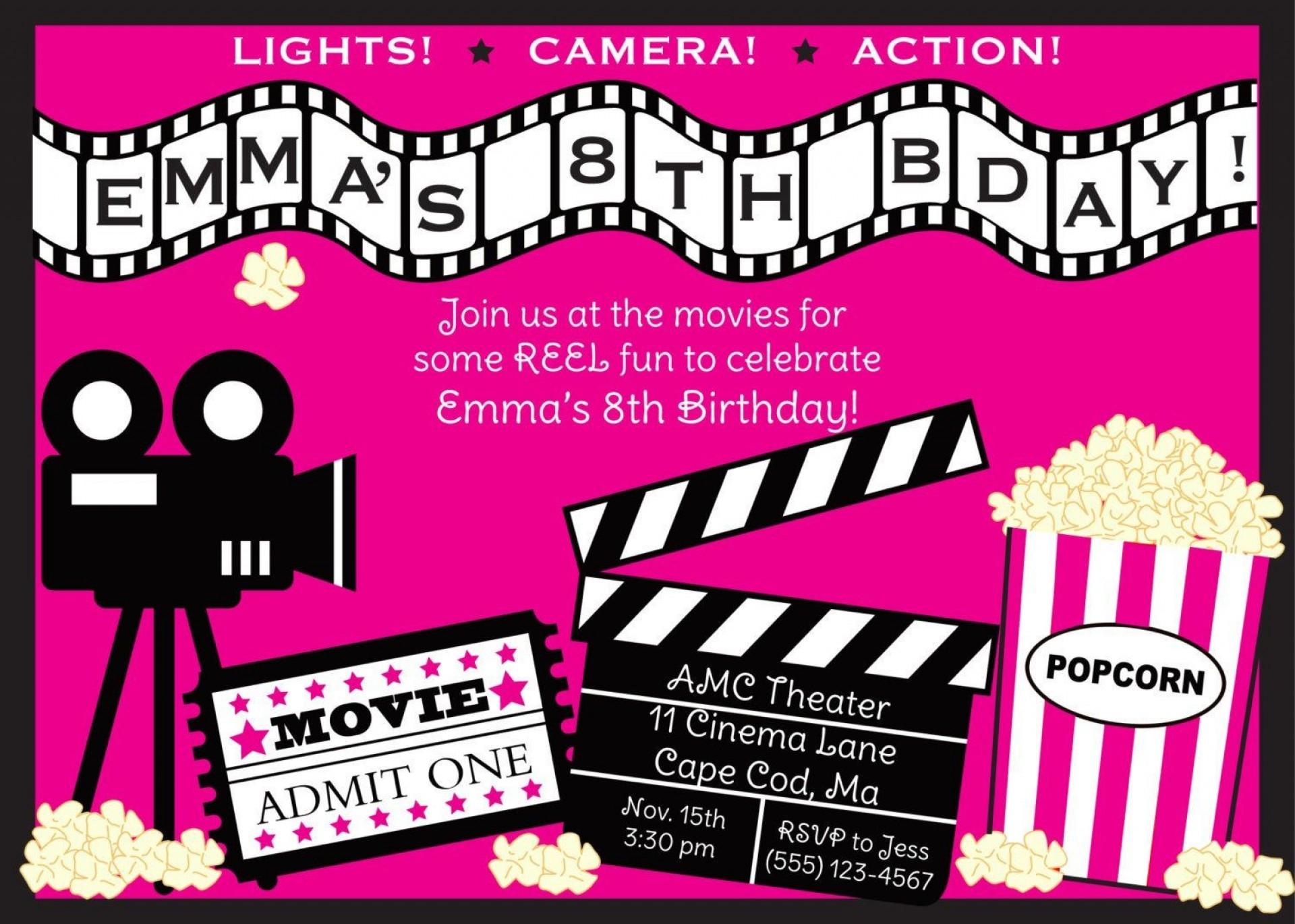 006 Rare Movie Ticket Invitation Template Photo  Blank Free Download Editable Printable1920