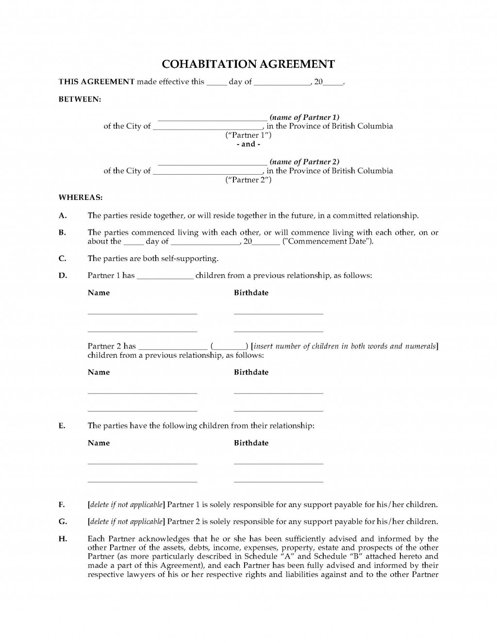 006 Rare Real Estate Purchase Agreement Template British Columbia Inspiration Large