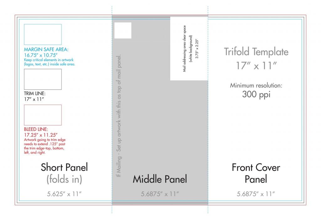 006 Rare Tri Fold Brochure Template Word Photo  2010 2007 FreeLarge