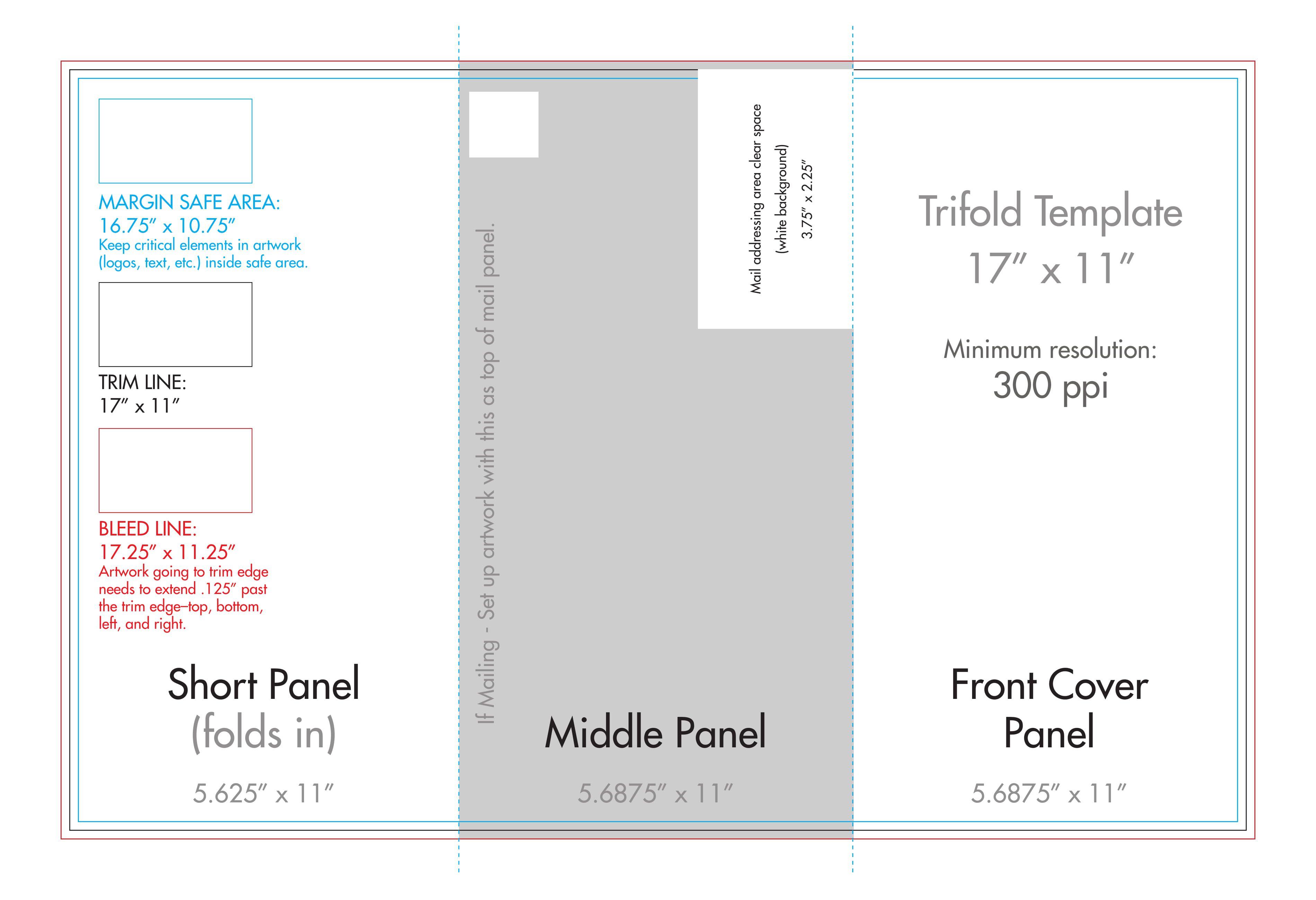 006 Rare Tri Fold Brochure Template Word Photo  2010 2007 FreeFull