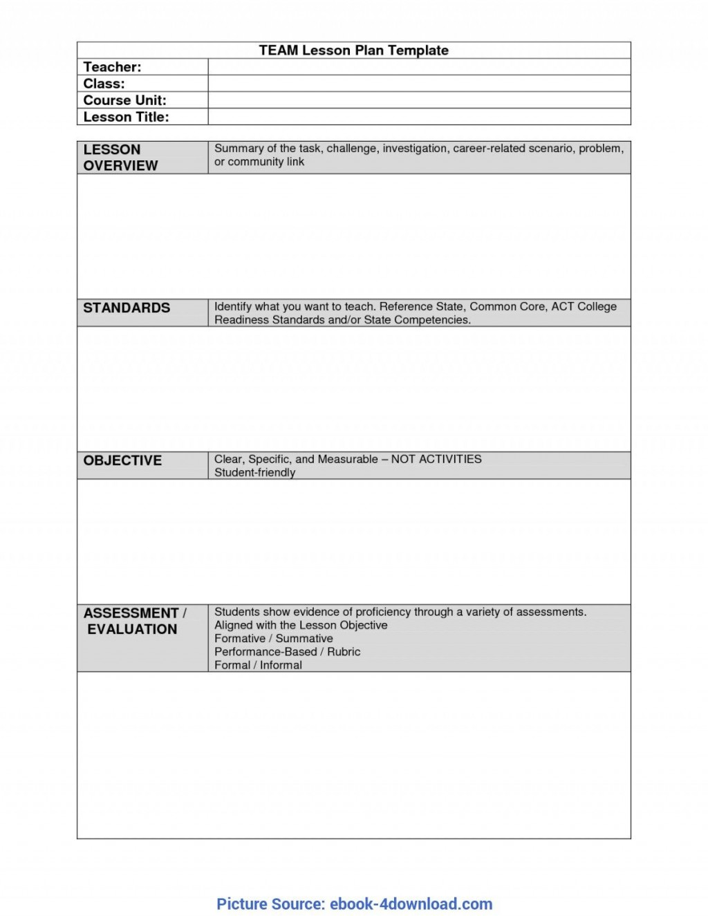 006 Rare Unit Lesson Plan Template High Def  Word Thematic Example PdfLarge