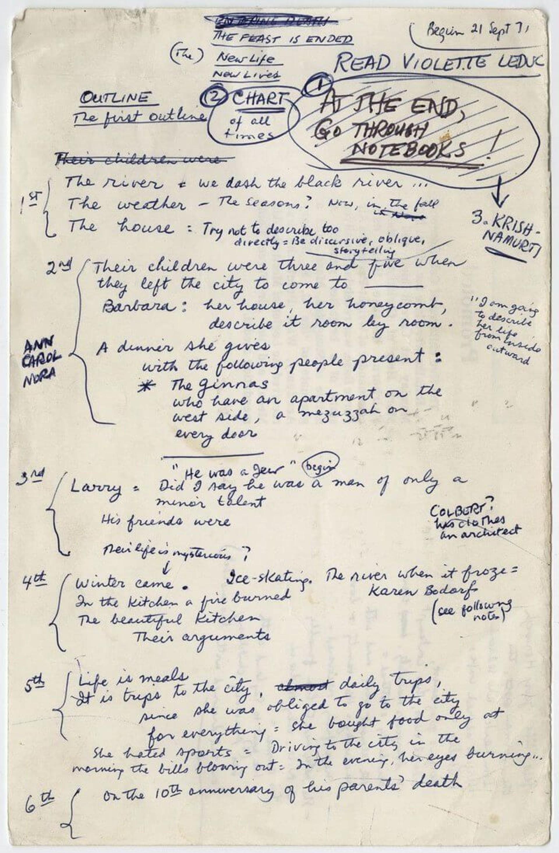 006 Rare Writing A Novel Outline Template Sample 1920