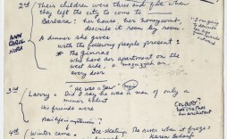 006 Rare Writing A Novel Outline Template Sample