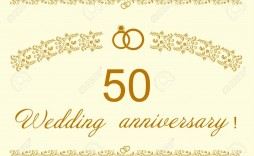 006 Remarkable 50th Anniversary Invitation Design Image  Designs Wedding Template Microsoft Word Surprise Party Wording Card Idea