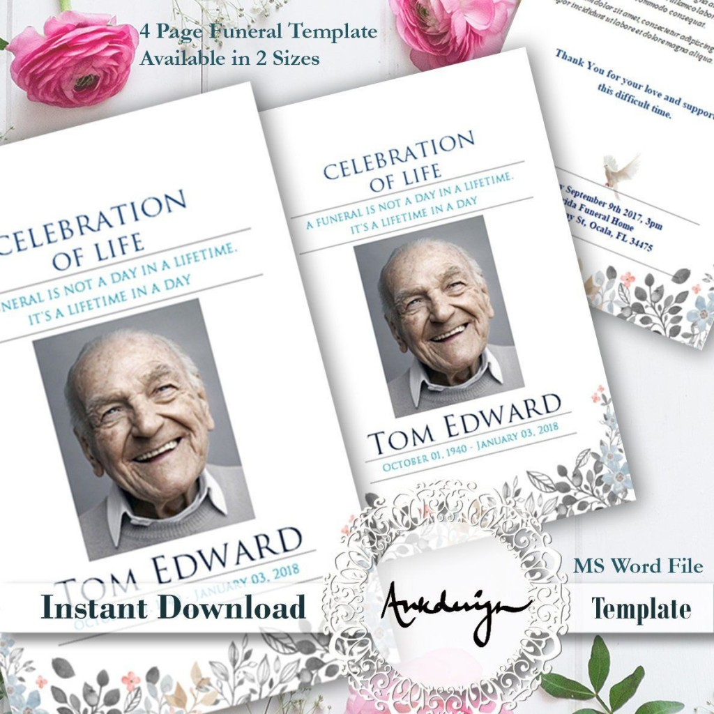 006 Remarkable Celebration Of Life Template High Def  Powerpoint Program Download Announcement FreeLarge