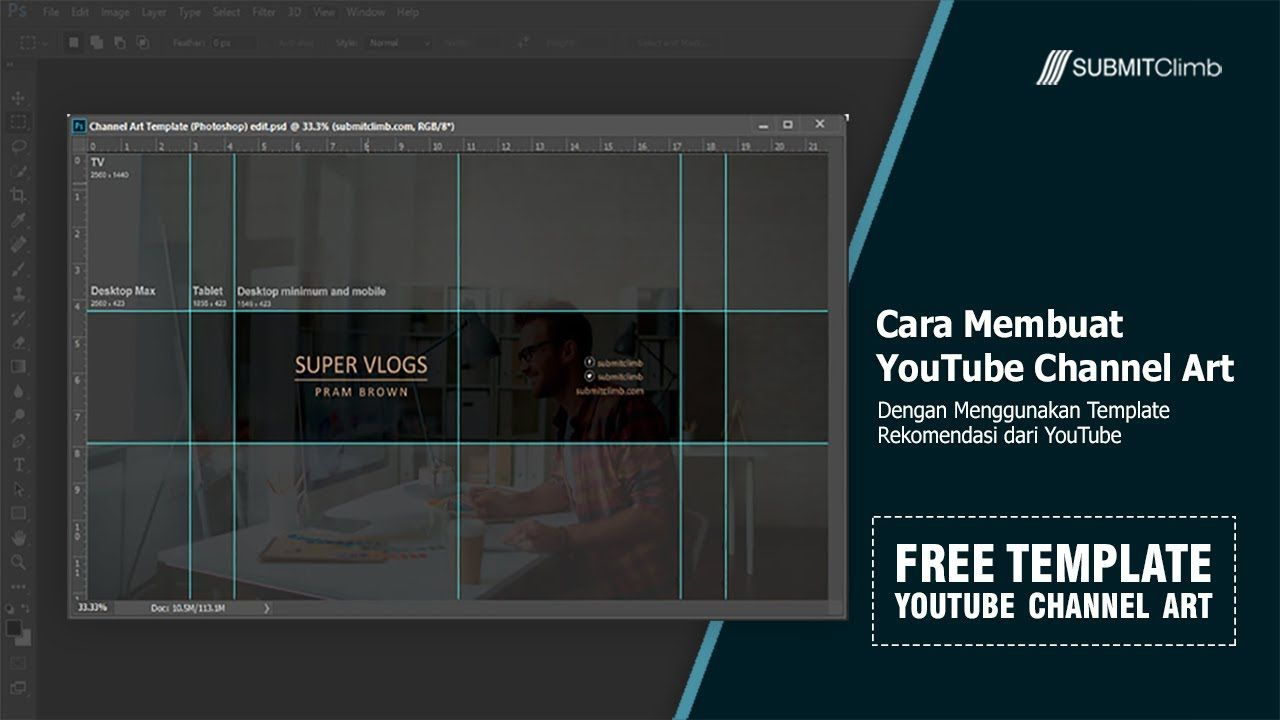 006 Remarkable Channel Art Template Photoshop Highest Clarity  Roblox Youtube CcFull