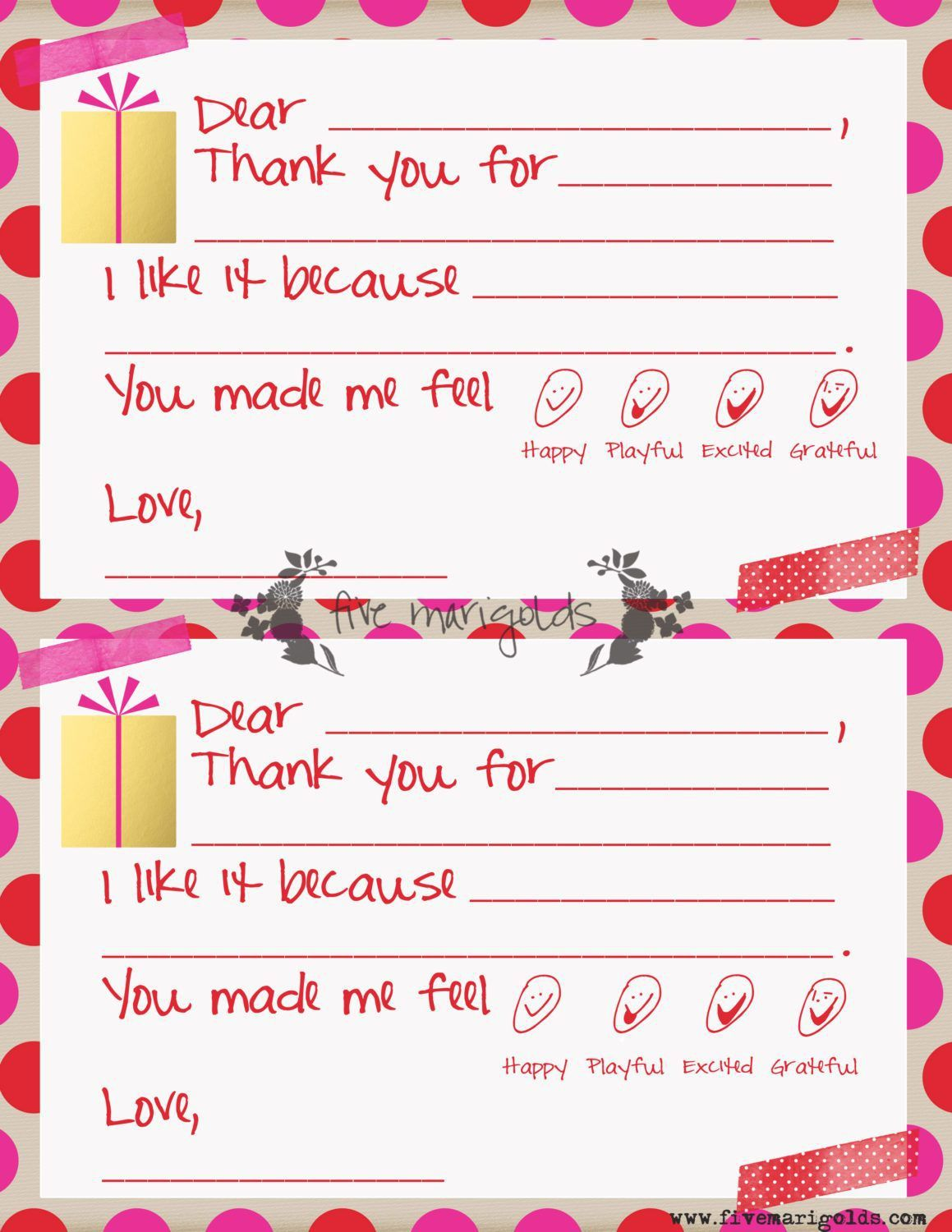006 Remarkable Christma Thank You Note Template Free Concept  Letter CardFull