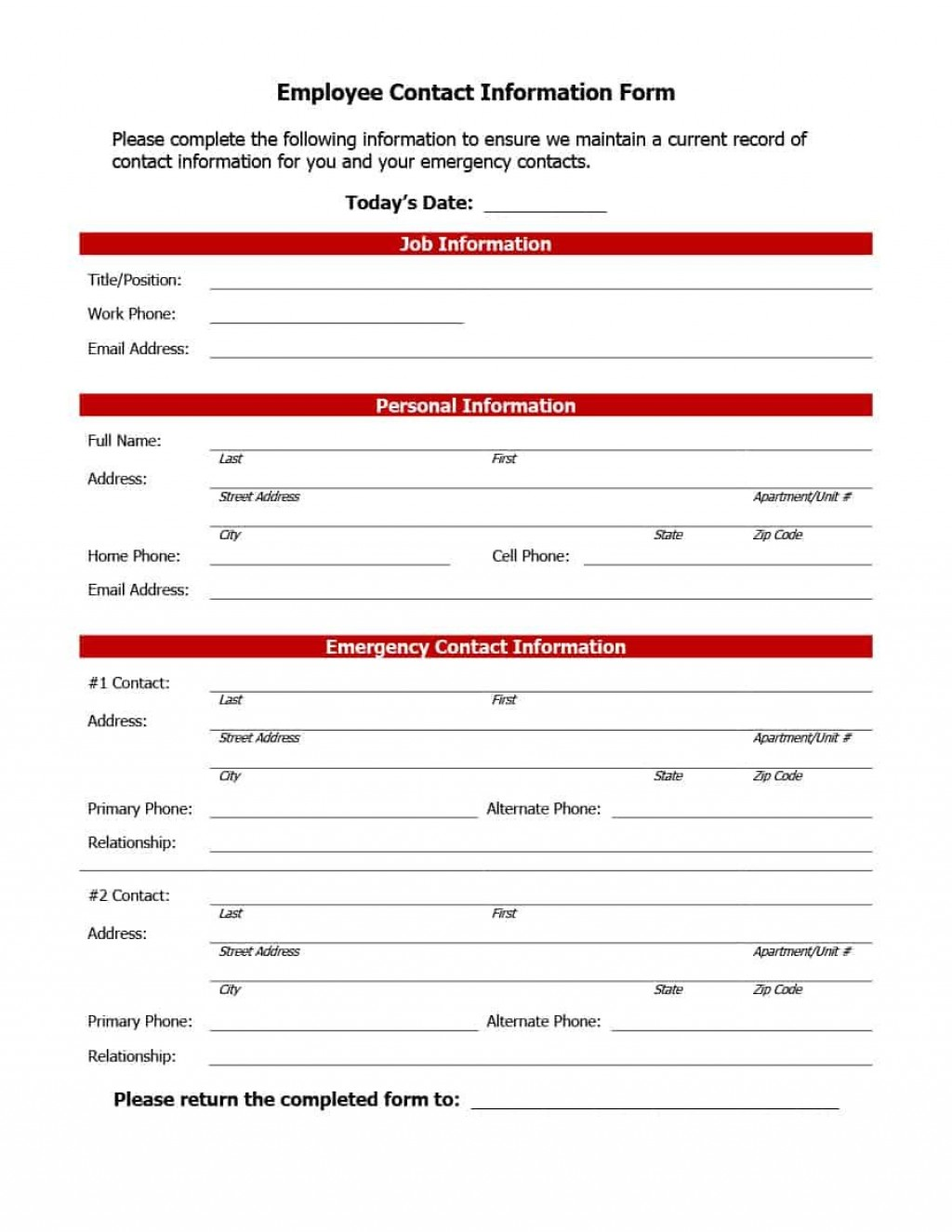 006 Remarkable Emergency Information Card Template Highest Clarity  Contact Free For ChildLarge