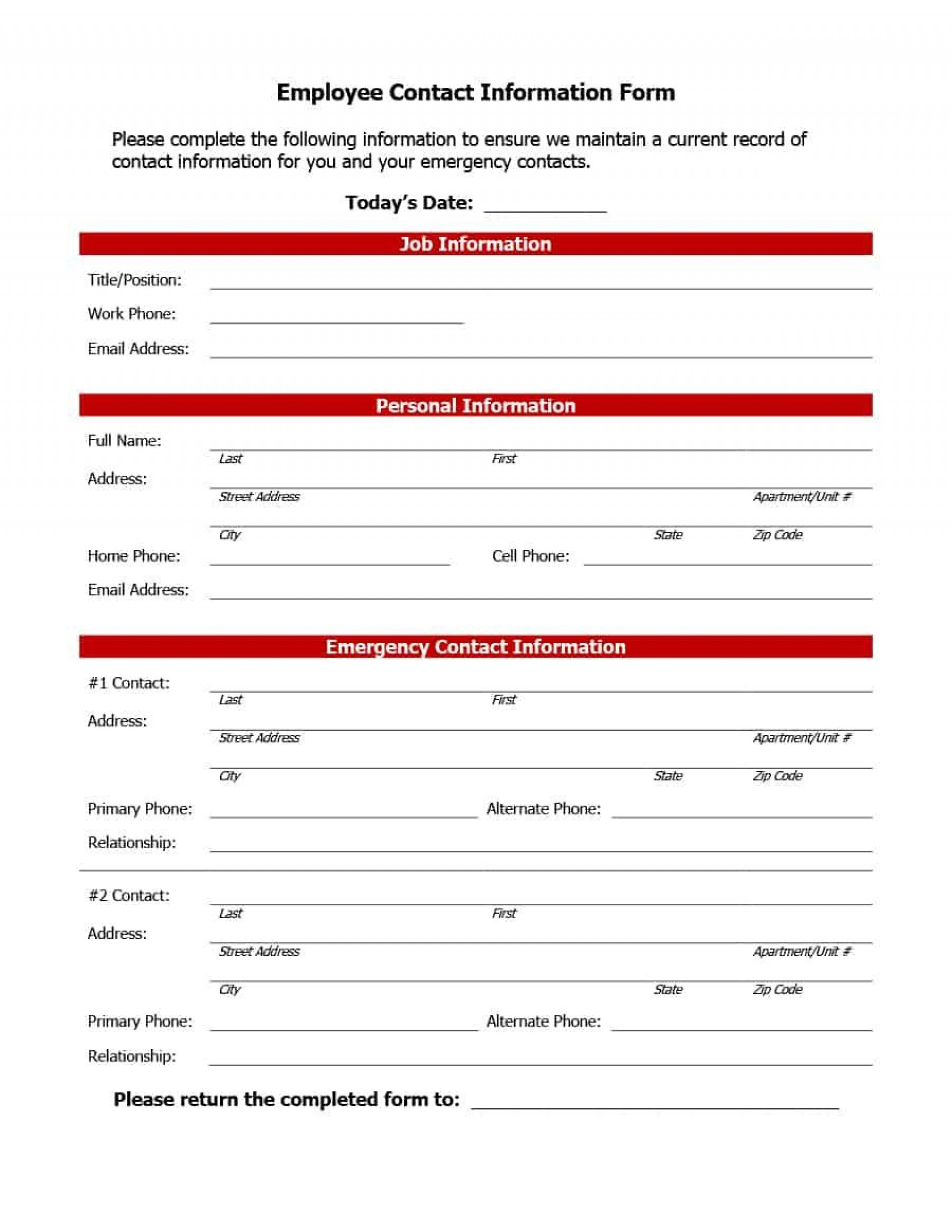 006 Remarkable Emergency Information Card Template Highest Clarity  Contact Free For Child1920