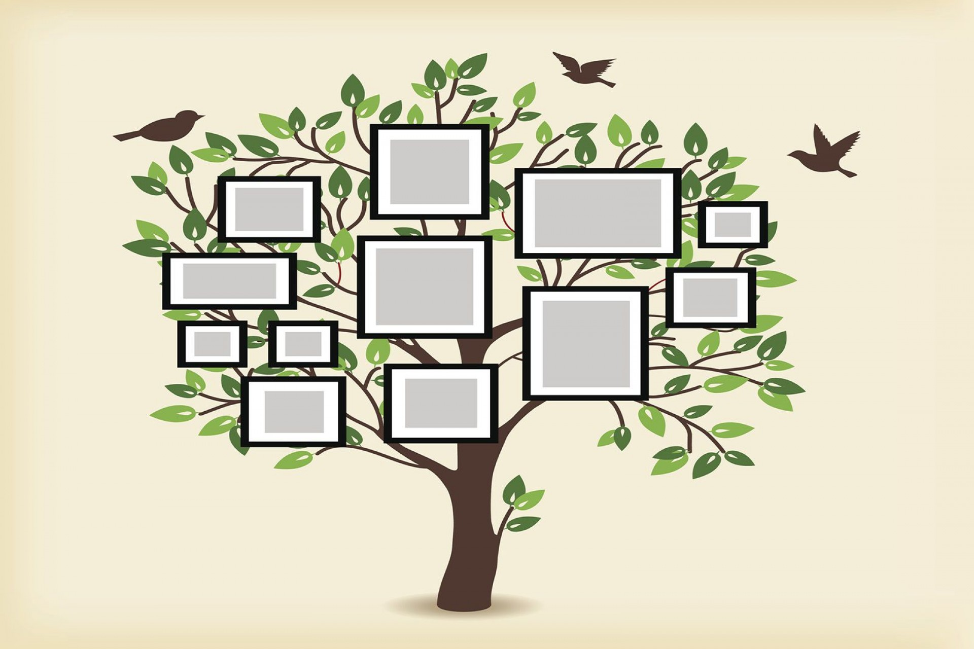 006 Remarkable Family Tree For Baby Book Template Sample  Printable1920