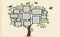 006 Remarkable Family Tree For Baby Book Template Sample  Printable