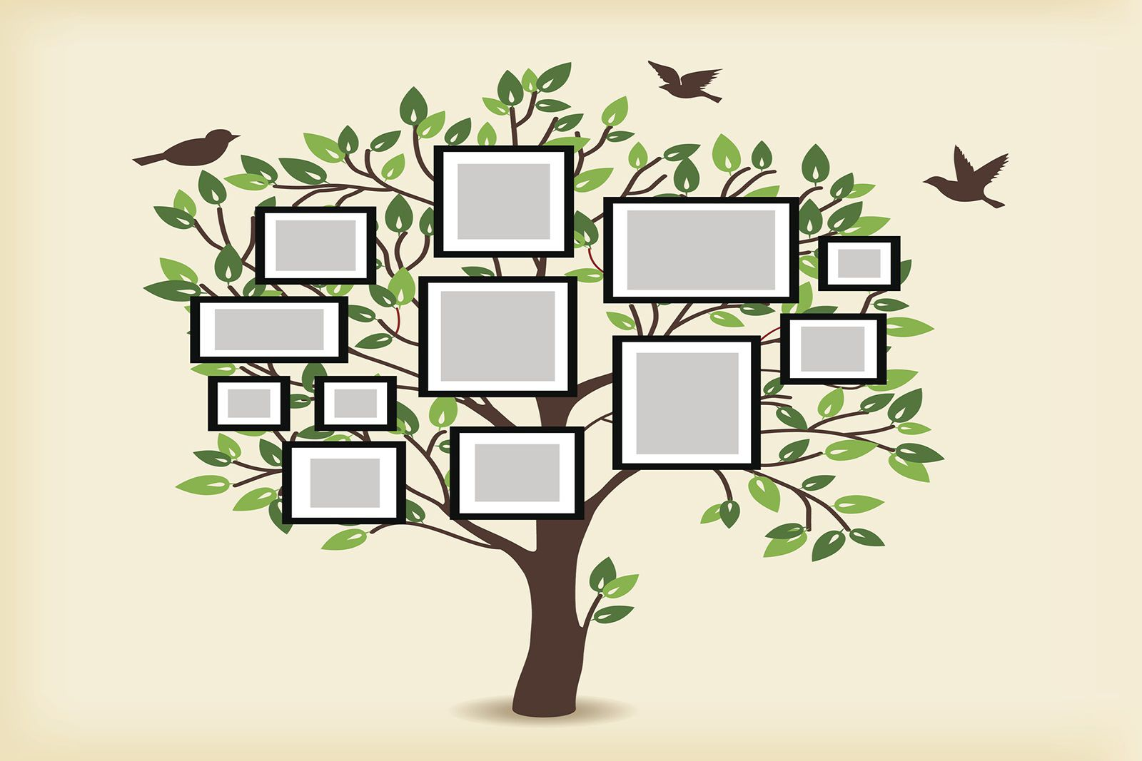 006 Remarkable Family Tree For Baby Book Template Sample  PrintableFull