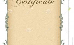 006 Remarkable Free Blank Certificate Template Example  Templates Downloadable Printable And Award Gift For Word