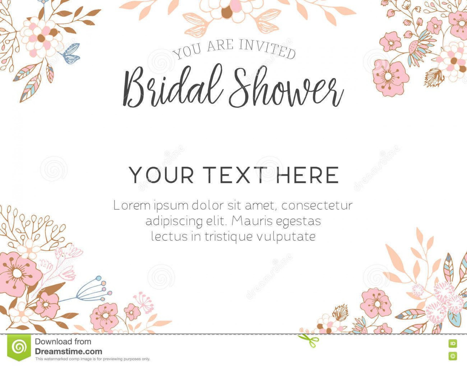 006 Remarkable Free Bridal Shower Invite Template Highest Clarity  Templates Invitation To Print Online Wedding For Microsoft Word1920