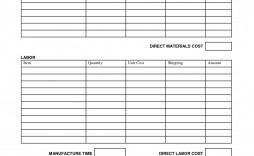 006 Remarkable Free Job Estimate Template Highest Clarity  Printable Form