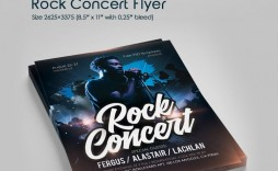 006 Remarkable Free Rock Concert Poster Template Psd Picture