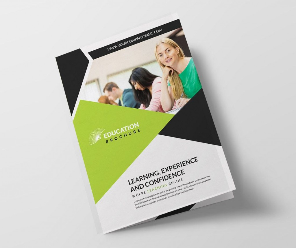 006 Remarkable Half Fold Brochure Template Free Image  Blank Microsoft WordLarge
