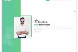 006 Remarkable Personal Website Template Bootstrap Sample  4 Free Download Portfolio