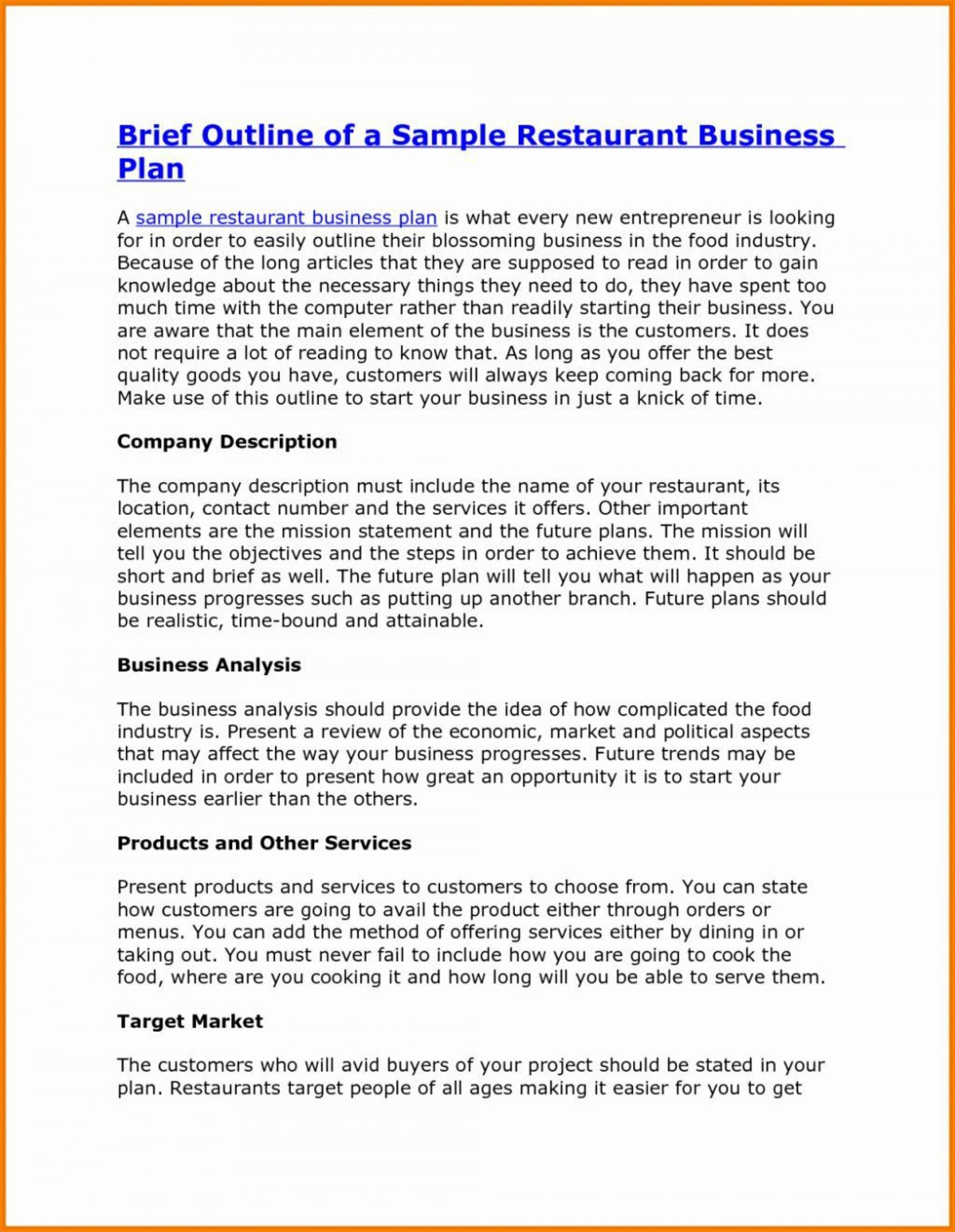006 Remarkable Photography Busines Plan Example Idea  Examples Pdf Proposal1920