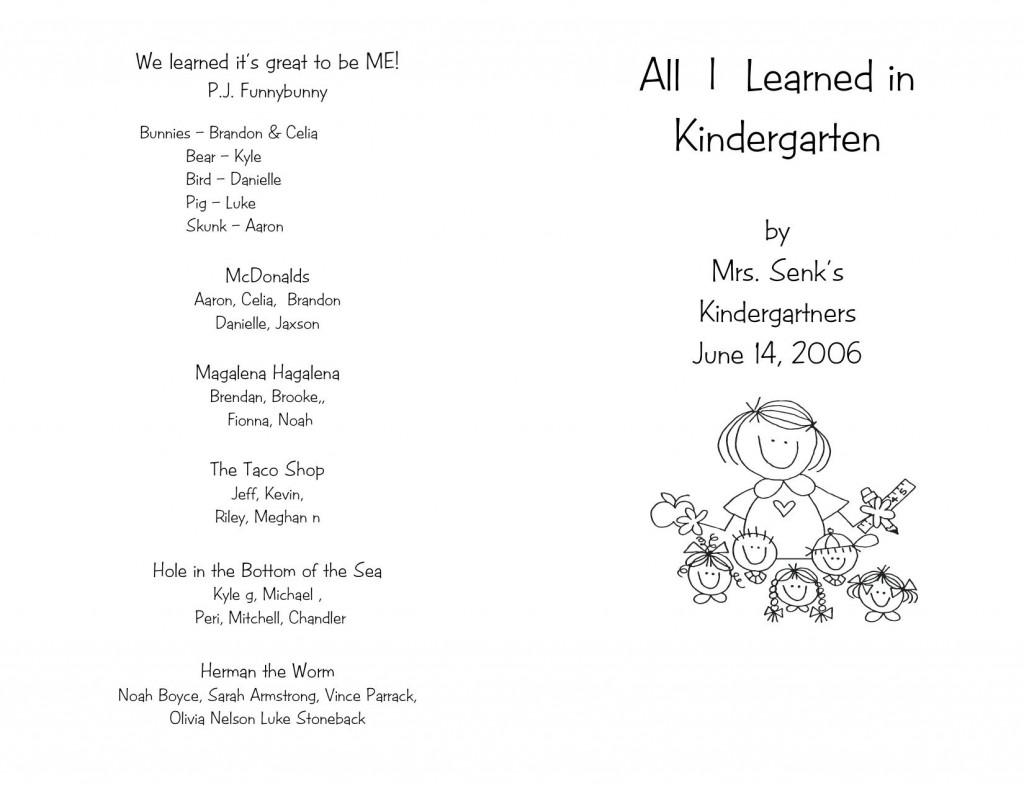 006 Remarkable Preschool Graduation Program Template High Def  Templates Free Printable PdfLarge