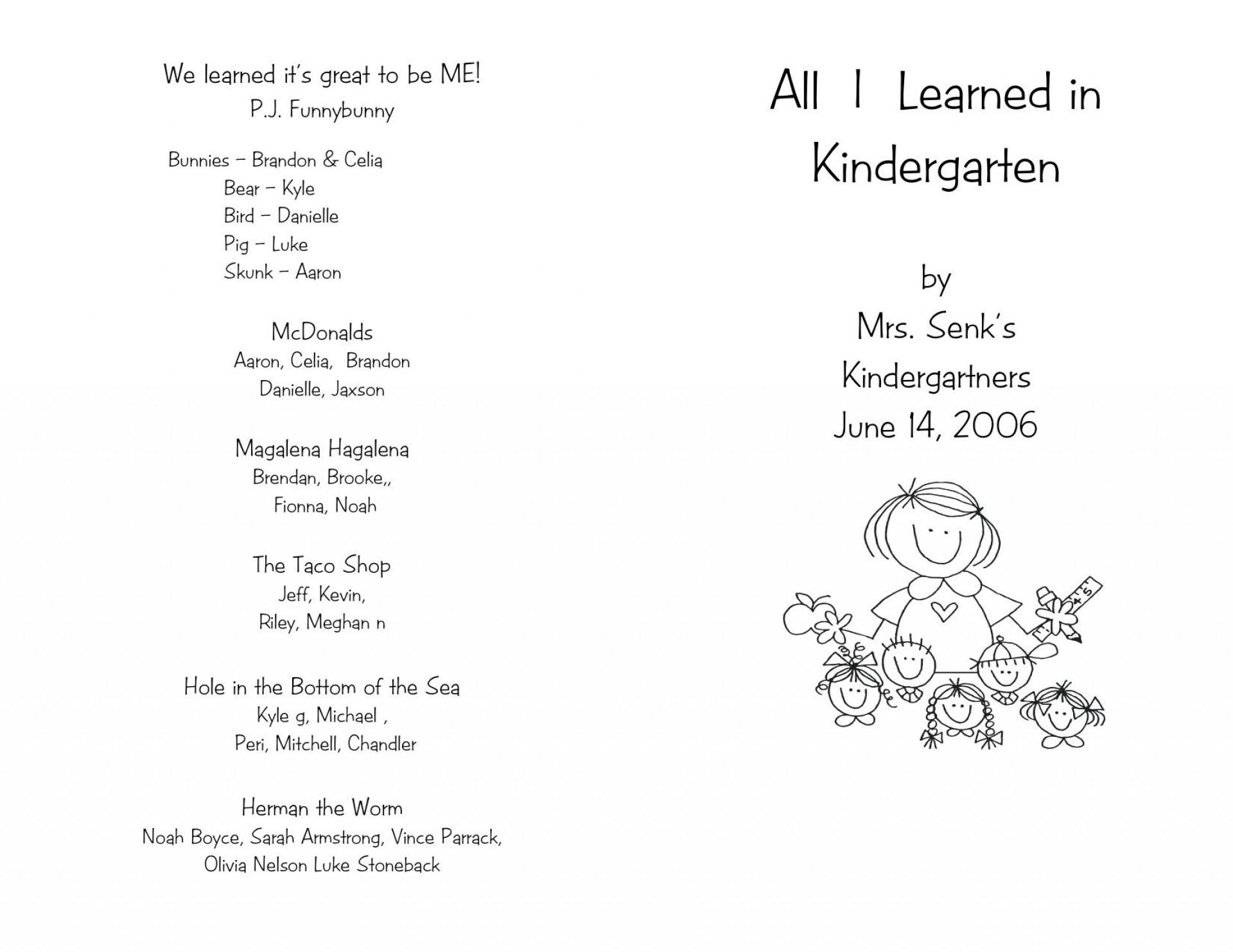 006 Remarkable Preschool Graduation Program Template High Def  Templates Free Printable Pdf1920