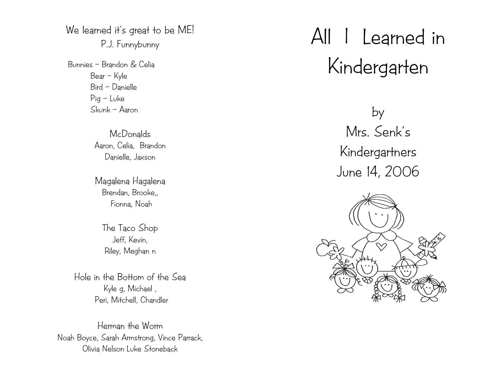 006 Remarkable Preschool Graduation Program Template High Def  Templates Free Printable PdfFull