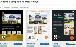 006 Remarkable Real Estate Marketing Flyer Template Free Example