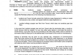 006 Remarkable Residential Lease Agreement Template Design  Tenancy Form Alberta California