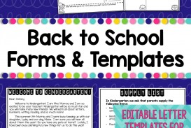 006 Remarkable Teacher Welcome Letter Template Design  Preschool To Parent From Free