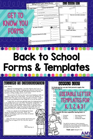 006 Remarkable Teacher Welcome Letter Template Design  Preschool To Parent From Free320