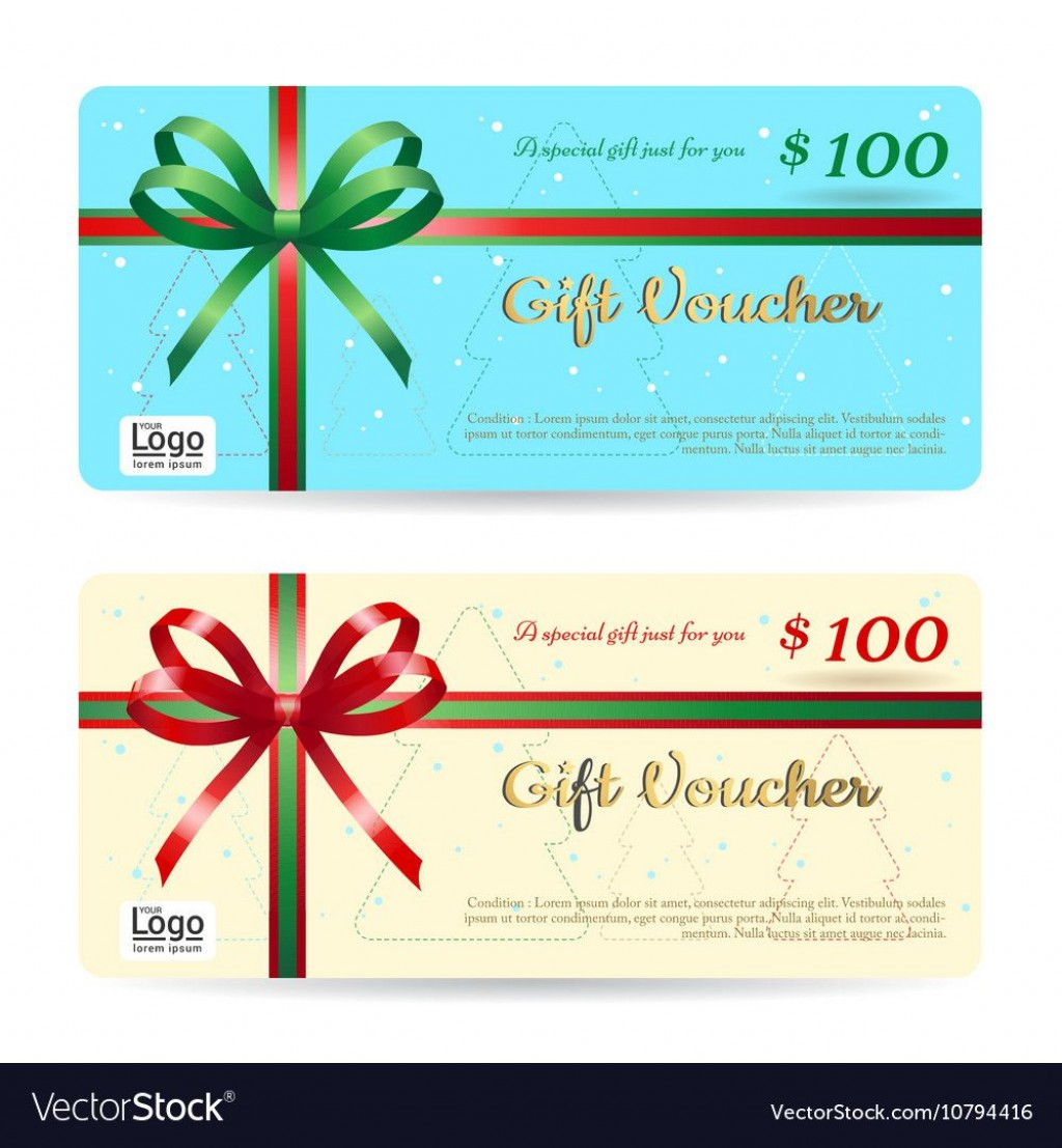 006 Remarkable Template For Christma Gift Card Image  Word Certificate SampleLarge