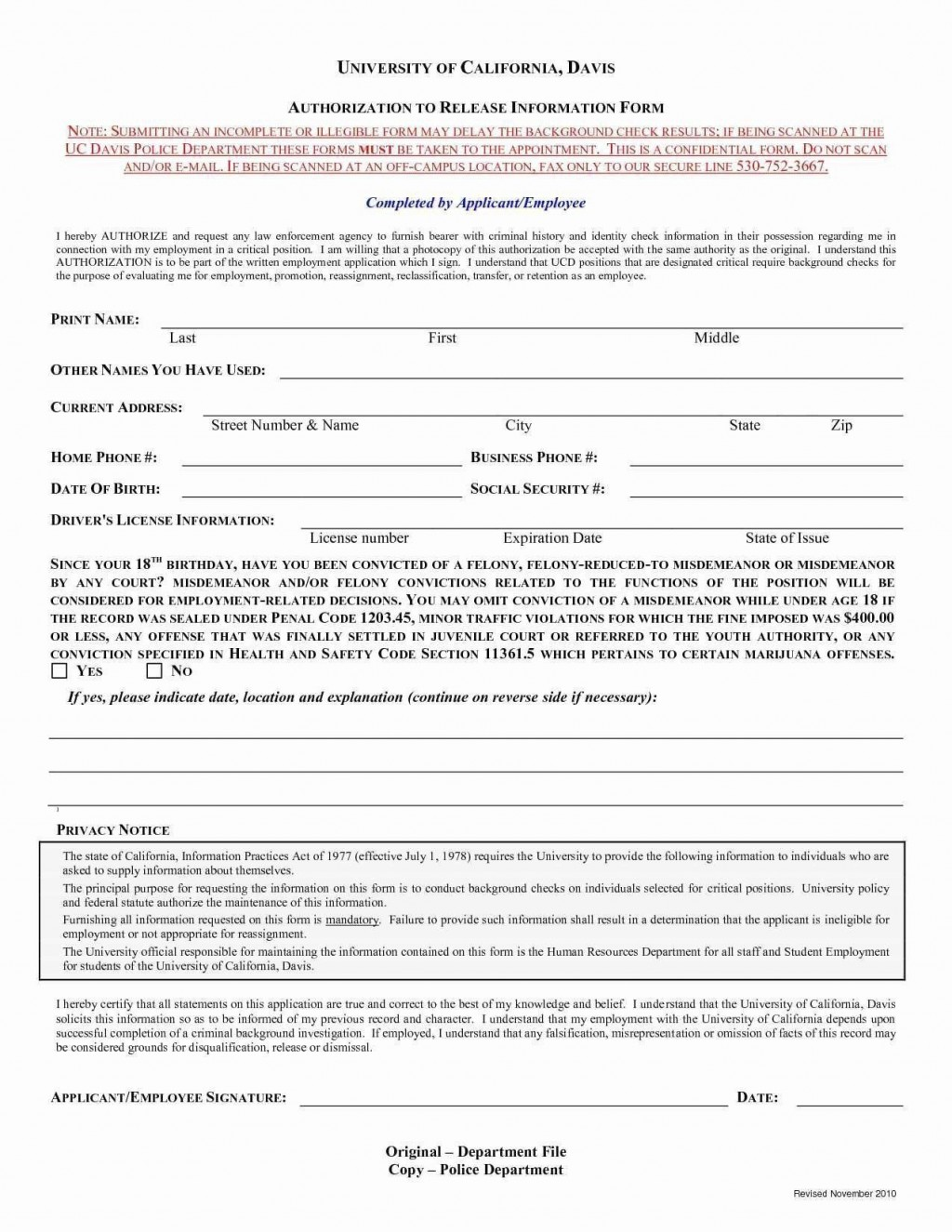 006 Sensational Background Check Form Template Free Concept  AuthorizationLarge
