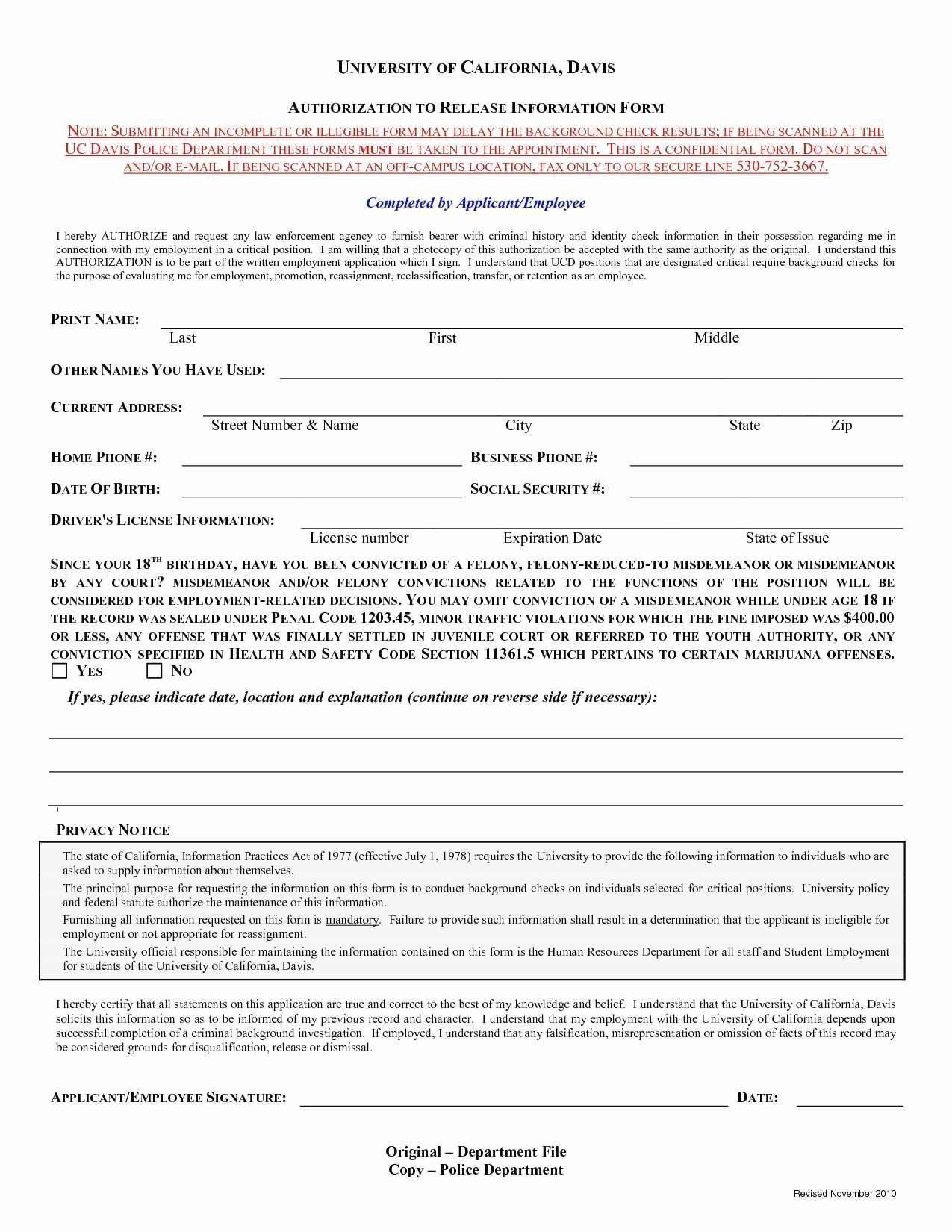 006 Sensational Background Check Form Template Free Concept  AuthorizationFull