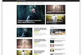 006 Sensational Best Free Responsive Blogger Template Download Concept