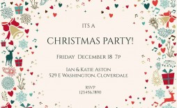 006 Sensational Free Email Holiday Party Invitation Template Concept  Templates Christma