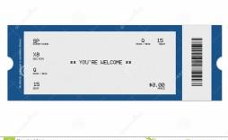006 Sensational Free Fake Concert Ticket Template High Def