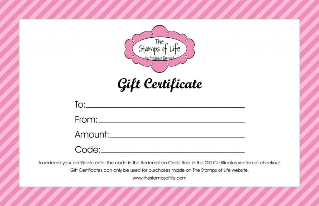 006 Sensational Free Template For Gift Certificate Design  Printable Birthday Mac In WordLarge