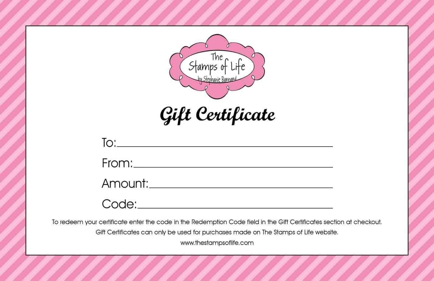 006 Sensational Free Template For Gift Certificate Design  Printable Birthday Mac In WordFull