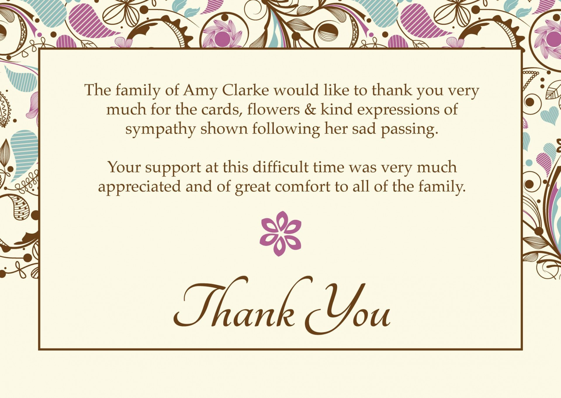 006 Sensational Free Thank You Note Template Word High Resolution  Card Download1920
