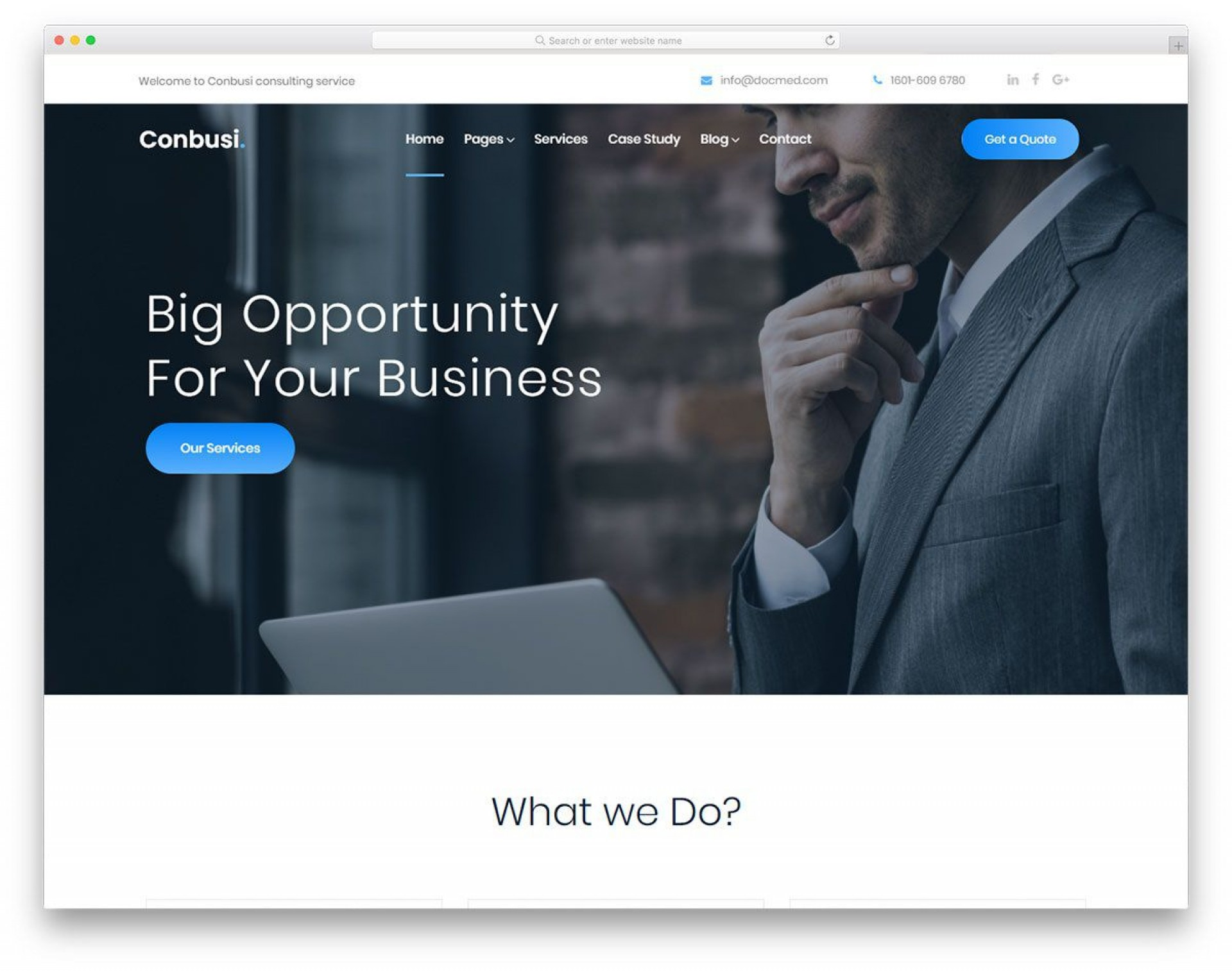 006 Sensational Free Website Template Download Html And Cs Jquery For Busines Idea  Business1920