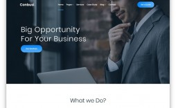 006 Sensational Free Website Template Download Html And Cs Jquery For Busines Idea  Business