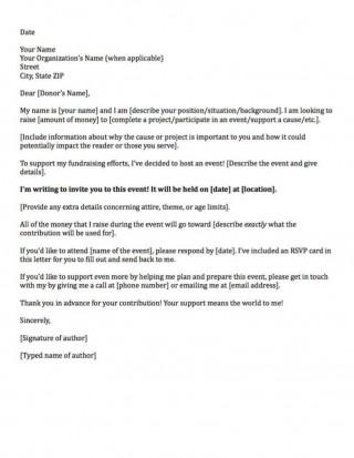 006 Sensational Fund Raising Letter Template Design  Fundraising For Mission Trip School Sample Of A Nonprofit Organization320